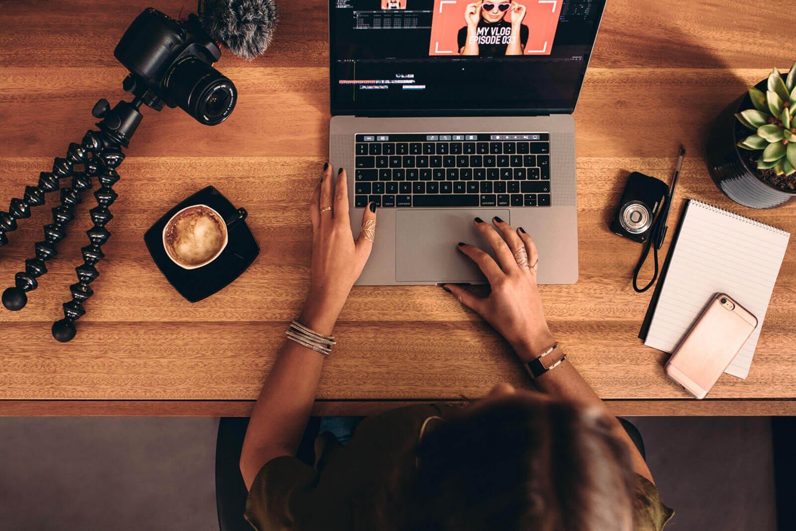 Создание фото и видео контента
